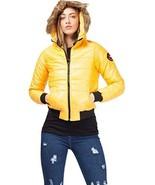 Momo&Ayat Fashions Ladies Faux Fur Hood Cropped Padded Jacket US Size 4-... - $32.09