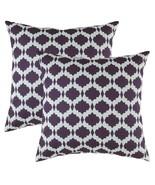 TreeWool, Cotton Slub Gem Accent Decorative Throw Pillowcases (2 Cushion... - $17.99