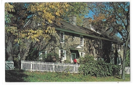 PA Bucks County Thompson Neely House Washington Crossing State Park 1964... - $4.99