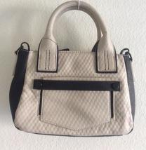 Women's Handbag, Beige/Black - $50.00