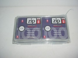 Lot of 10 Iomega Brand Zip Disc Disk 100 IBM PC Formatted New - $39.50