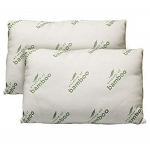 Essence of Bamboo Pillow, Shredded Memory Foam Pillow, Back, Stomach, Si... - $35.99