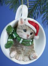 Holiday Santa Grey Cats - $10.95