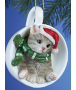 Holiday Santa Grey Cats - $10.95