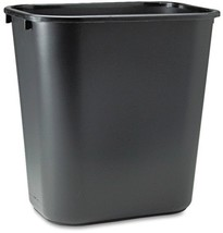 Rubbermaid Commercial Products 7-Gallon Black Plastic Touchless Trash Can - $20.74