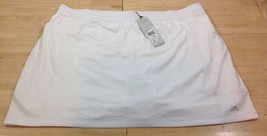 NEW Adidas Rangewear White Skort 3 Pocket XL Tennis Golf Running MSRP $65 NWT - $42.06