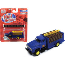 1954 Ford Bottle Truck Dads Root Beer Blue 1/87 (HO) Scale Model by Clas... - $23.80