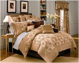 Waterford Baltray Linens Collection Scalloped Valence (S) New In Package - $59.39