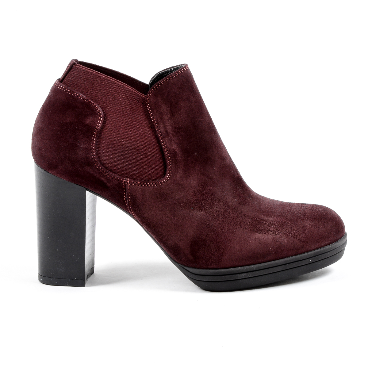 Primary image for V 1969 Italia Womens Heeled Ankle Boot Bordeaux GRACY