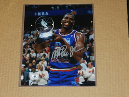 MAGIC JOHNSON AUTOGRAPH 8X10 - £68.76 GBP