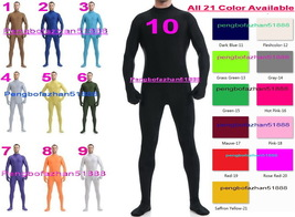 Halloween Cosplay Suit 21 Color Lycra Spandex Body Suit Catsuit Costumes S808 - $32.99