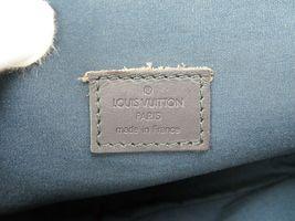 Authentic LOUIS VUITTON Marjorie Blue Monogram Mini Lin Shoulder Bag #34709 image 10