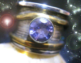 HAUNTED RING SIT AT THE TABLE WITH THE PRIESTESSES RARE MAGICK OOAK MAGICK  - $9,977.77