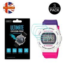 3x Watch Screen Protector anti scratch film for Casio G Shock DW-5700 - $16.10