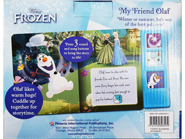 Disney Frozen My Friend Olaf Play-a-Sound(R) Book and Huggable Olaf image 2