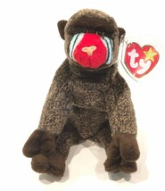 Ty Beanie Baby Cheeks The Baboon 1999 Mint Condition - £9.44 GBP