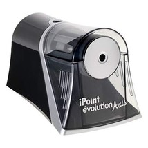Electric Pencil Sharpener Black - Westcott iPoint Evolution Axis Black - ₹2,254.68 INR