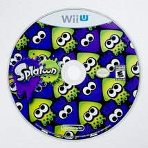 Splatoon (Nintendo Wii U, 2015) Game Disc Only - Shooter Game - Free Shipping - $12.30