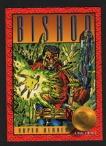 1993 SkyBox Marvel X-Men Series II Art Card SIGNED Brandon Peterson ~ Bishop - $12.86