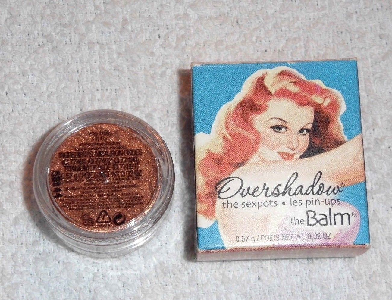 The Balm Overshadow Shimmering All Mineral Eyeshadow (BNIB