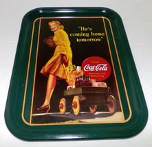 Vintage Coca Cola Tray Celebration Groceries Family & Coca Cola Org Art ... - $39.00