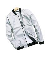 Hzcx Fashion Men's Classic Soild Color Thin Light Weight Flight Bomber J... - $22.45