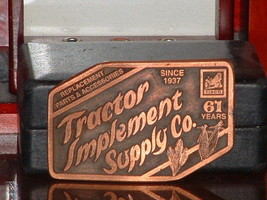 Pre-Owned Tisco Series IX 1937-1998 Limited Edition No 1352 Belt Buckle - $11.88