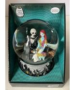 Nightmare Before Christmas Jack Sally Zero Musical SnoMotion Waterglobe ... - $49.99