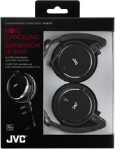 JVC - HA-NC120 - Noise-Cancelling Headphones with Retractable Cord - Black - $59.35