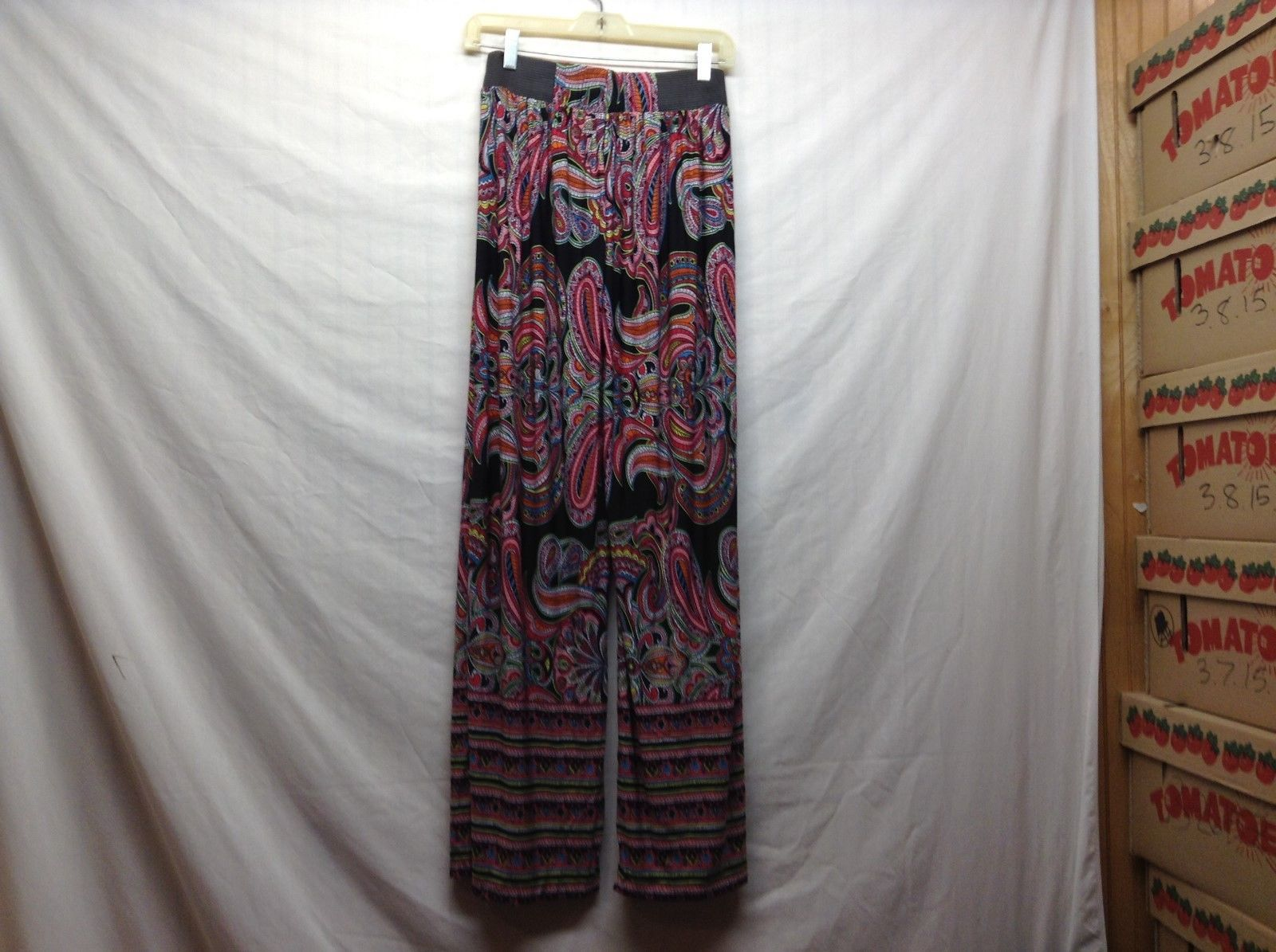 NEW Colorful Flowy Patterned Yoga Pants