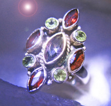 HAUNTED RING THE DIVINE THRONE HIGH ROYAL EXTREME MAGICK MYSTICAL TREASURES - $222.00