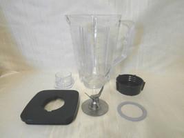 5 Cup Break Resistant Plastic Blender Square Jar Complete Set For Oster,... - $21.55