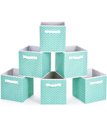 MaidMAX Collapsible Cloth Storage Bins Cubes Baskets Containers with Dua... - $25.99+