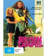 BIG MAN ON CAMPUS Allan Katz Corey Parker Cindy Williams  Comedy  DVD AL... - $7.95