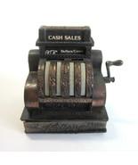 Vintage 1970's Mini Die Cast  Miniature National Cash Register Pencil Sh... - $9.50