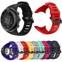 Soft Silicone Strap For Suunto Core Watch Band Watches Bracelet Smart Wristband - $26.31