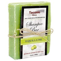 Taconic Shave LIME Shampoo Bar - All Natural / Handcrafted - 5.5 oz. - $11.49