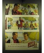 1948 Schlitz Beer Advertisement - $14.99