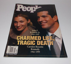 People Magazine August 2 1999 John F Kennedy Jr Complete Issue Carolyn B... - $9.99