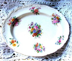 "Coalport Fragrance Platter Raised Border Floral Bone China 11"" Oval Tray... - €20,00 EUR"