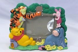 "Disney Pooh Tigger Eeyore Piglet Frame 3.5"" x 5"" Photo - $16.66"