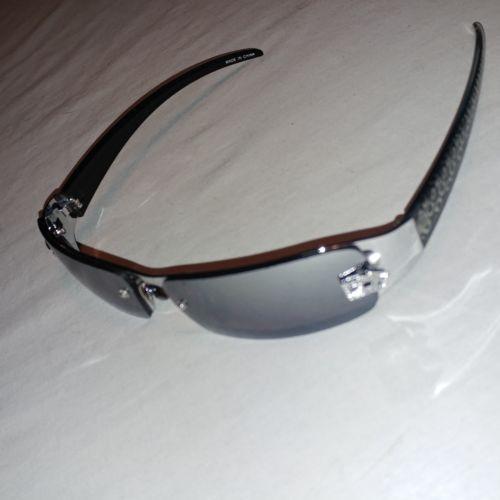 f8f24324409e9 12. 12. Previous. DG Womens Rimless Fashion Designer Sunglasses Shades  Rectangular Wrap ...