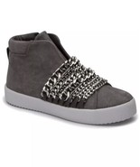 New $195 Kendall + Kylie Duke Gray Suede High Top Sneakers Shoes Size 6 - $105.29
