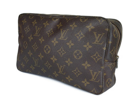 LOUIS VUITTON TROUSSE TOILETTE 28 Monogram Canvas Cosmetic Pouch Bag LP2893 - $189.00