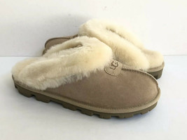UGG COQUETTE SAND SHEARLING MOCASSIN SLIPPERS US 10 / EU 41 / UK 8.5 - $98.18