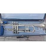 Alte Trompete MIGMA Markneukirchen mit Koffer Mundstück Musik Instrument... - $254.28