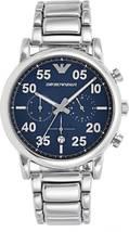 Emporio Armani AR11132 Sport Chronograph Blue Dial Men's Watch - $209.89