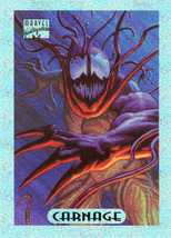 Marvel Masterpieces Holofoil 2 of 10 - Carnage - $3.49