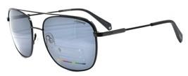 Polaroid PLD 2056/S 003M9 Men's Sunglasses Polarized 58-18-140 Black / Gray - $43.49