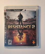 Resistance 2 Playstation 3 Game-PS3, RESISTANCE 2 Origianl - $3.98